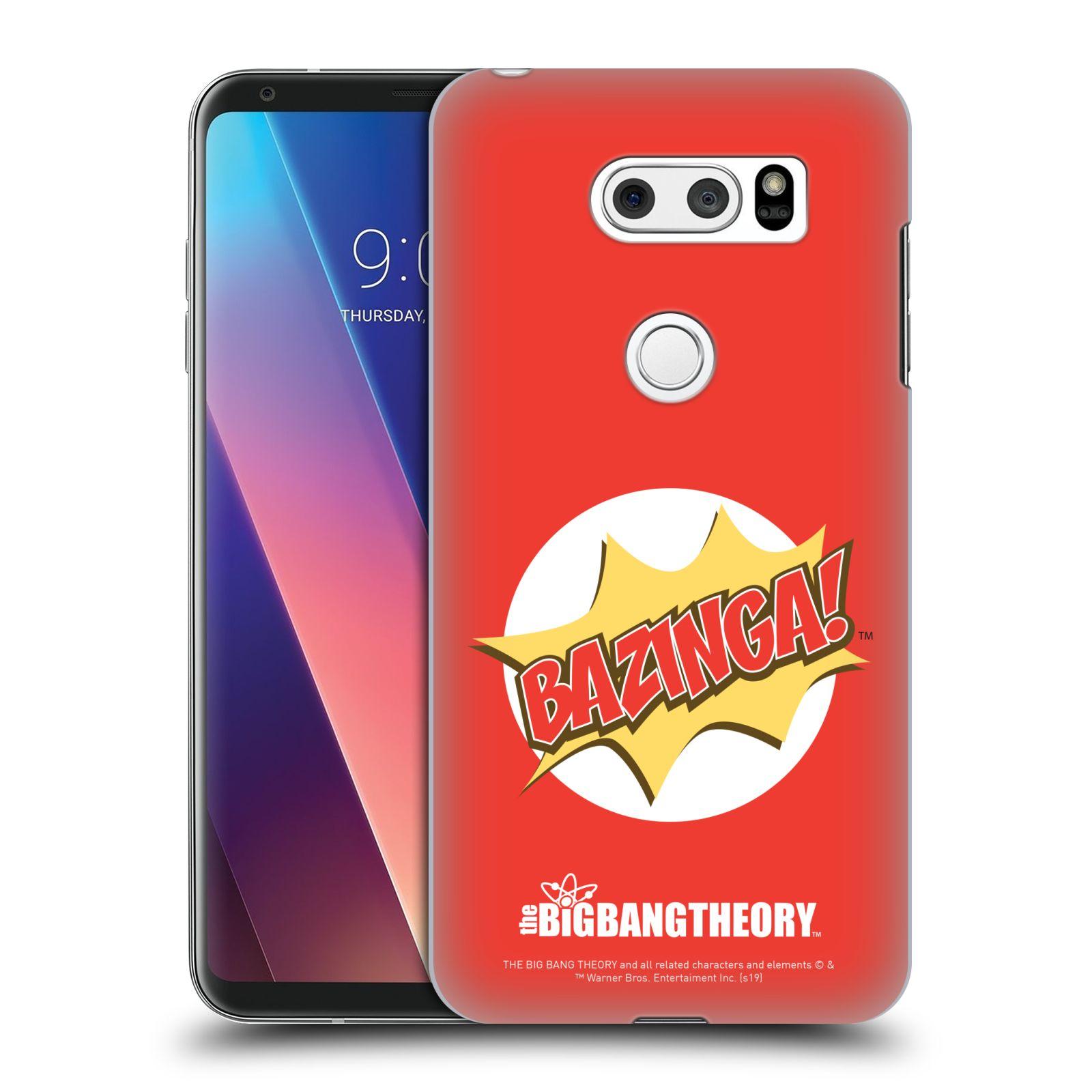 Pouzdro na mobil LG V30 - HEAD CASE - Big Bang Theory - Bazinga