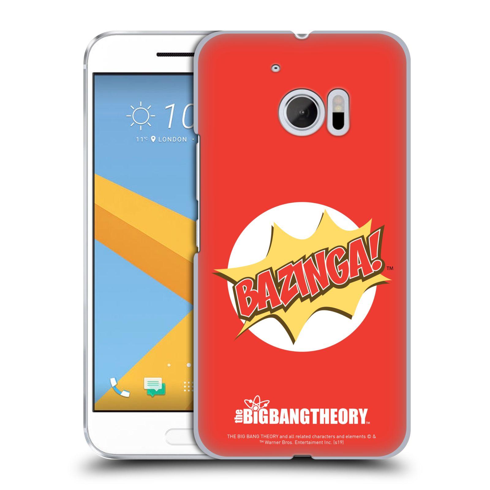 Pouzdro na mobil HTC 10 - HEAD CASE - Big Bang Theory - Bazinga