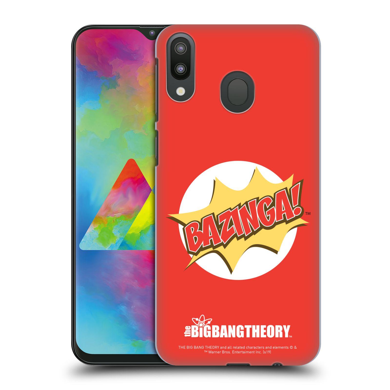 Pouzdro na mobil Samsung Galaxy M20 - HEAD CASE - Big Bang Theory - Bazinga