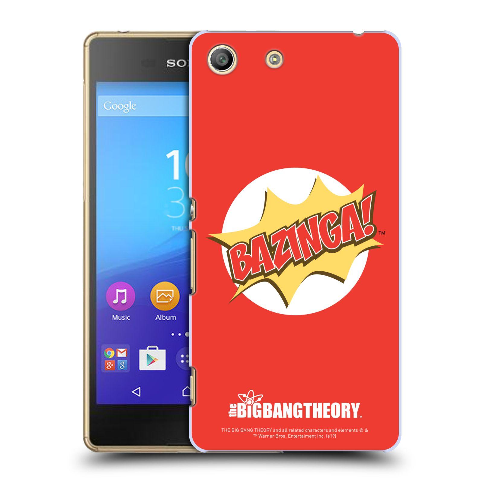 Pouzdro na mobil Sony Xperia M5 - HEAD CASE - Big Bang Theory - Bazinga