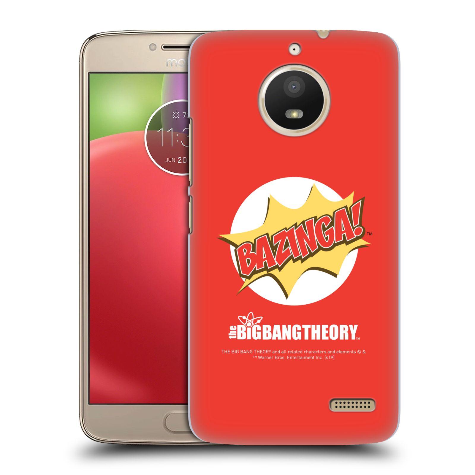 Pouzdro na mobil Lenovo Moto E4 - HEAD CASE - Big Bang Theory - Bazinga