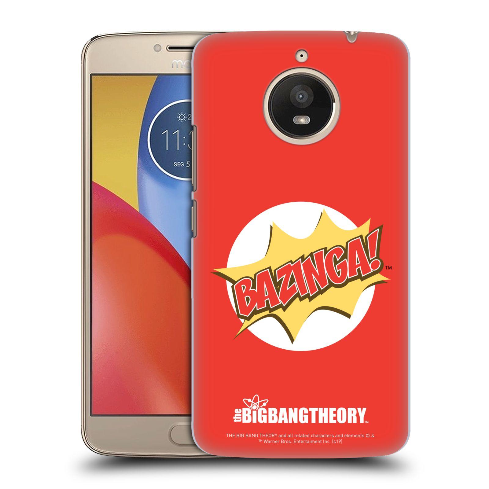 Pouzdro na mobil Lenovo Moto E4 PLUS - HEAD CASE - Big Bang Theory - Bazinga