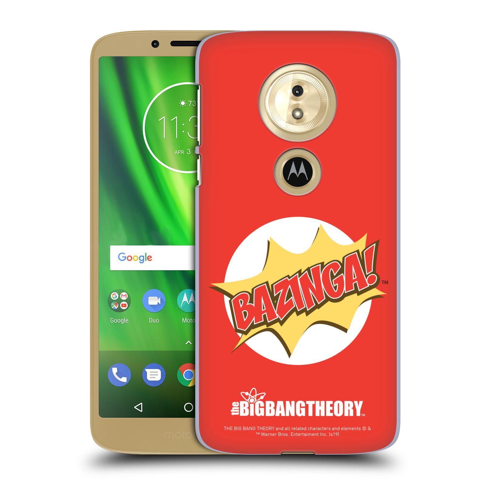 Pouzdro na mobil Motorola Moto E5 - HEAD CASE - Big Bang Theory - Bazinga