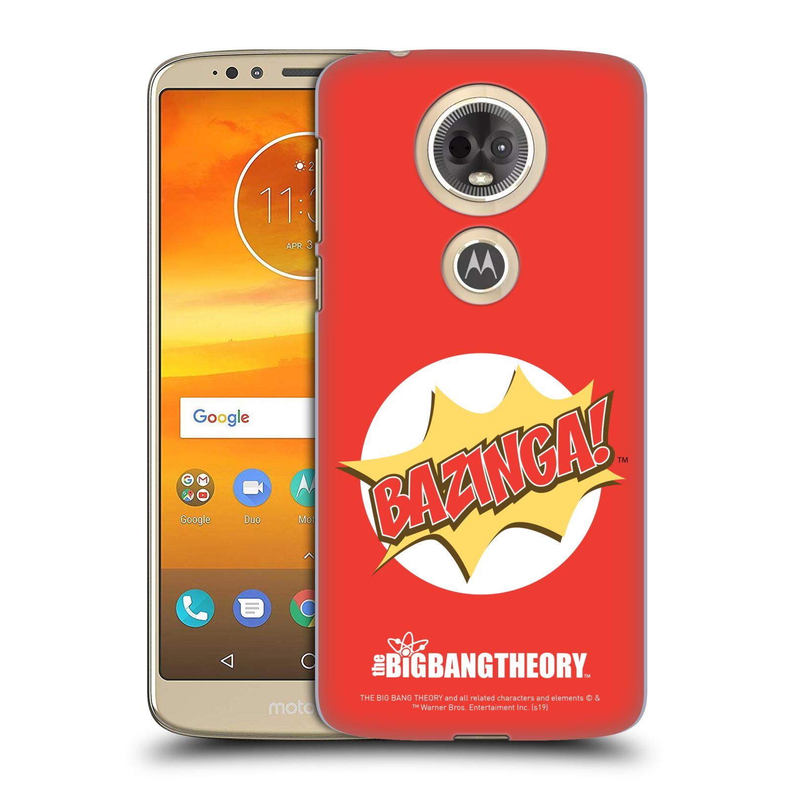 Pouzdro na mobil Motorola Moto E5 PLUS - HEAD CASE - Big Bang Theory - Bazinga