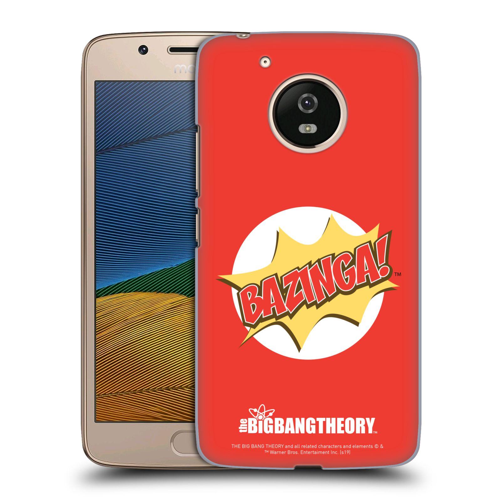 Pouzdro na mobil Lenovo Moto G5 - HEAD CASE - Big Bang Theory - Bazinga
