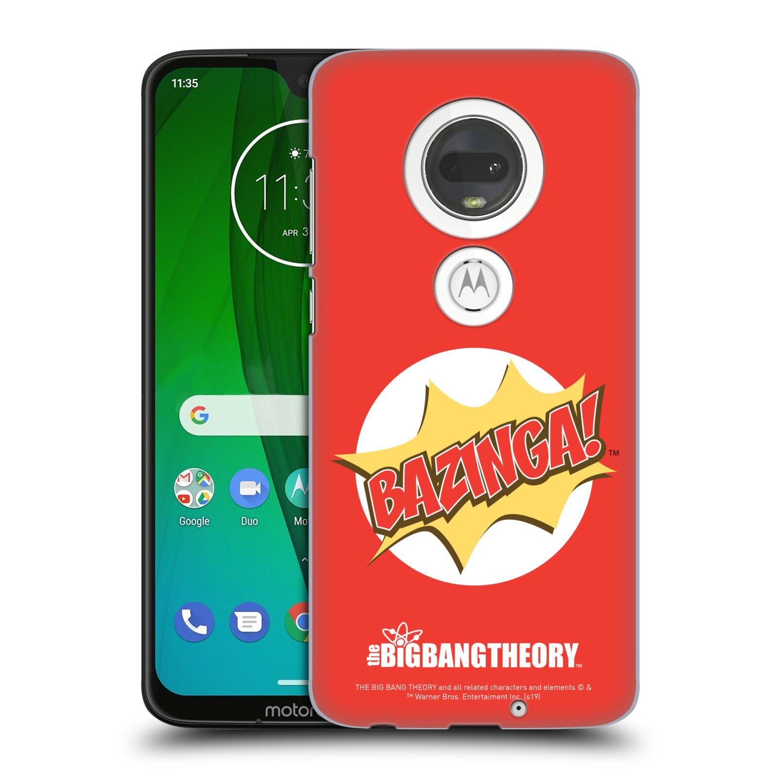 Pouzdro na mobil Motorola Moto G7 - HEAD CASE - Big Bang Theory - Bazinga
