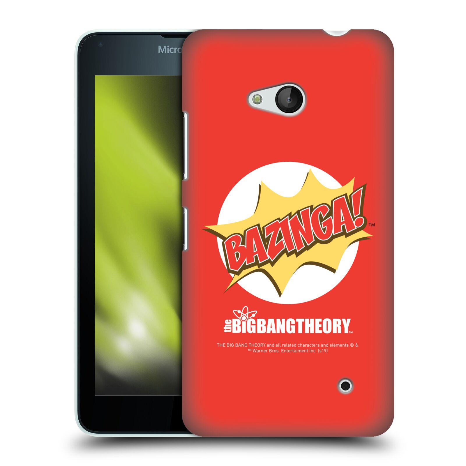 Pouzdro na mobil Microsoft Lumia 640 / 640 DUAL SIM - HEAD CASE - Big Bang Theory - Bazinga