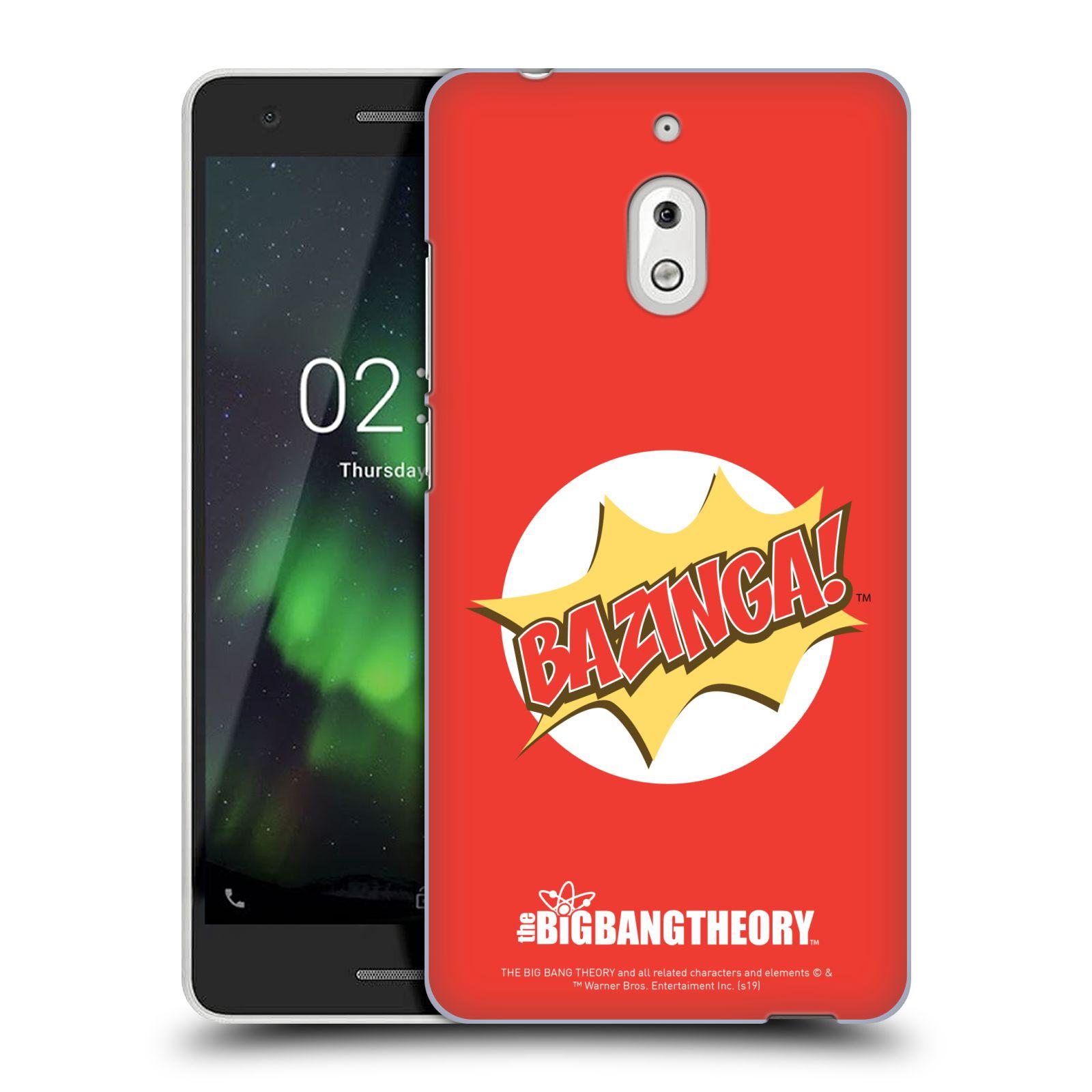 Pouzdro na mobil Nokia 2.1 - HEAD CASE - Big Bang Theory - Bazinga