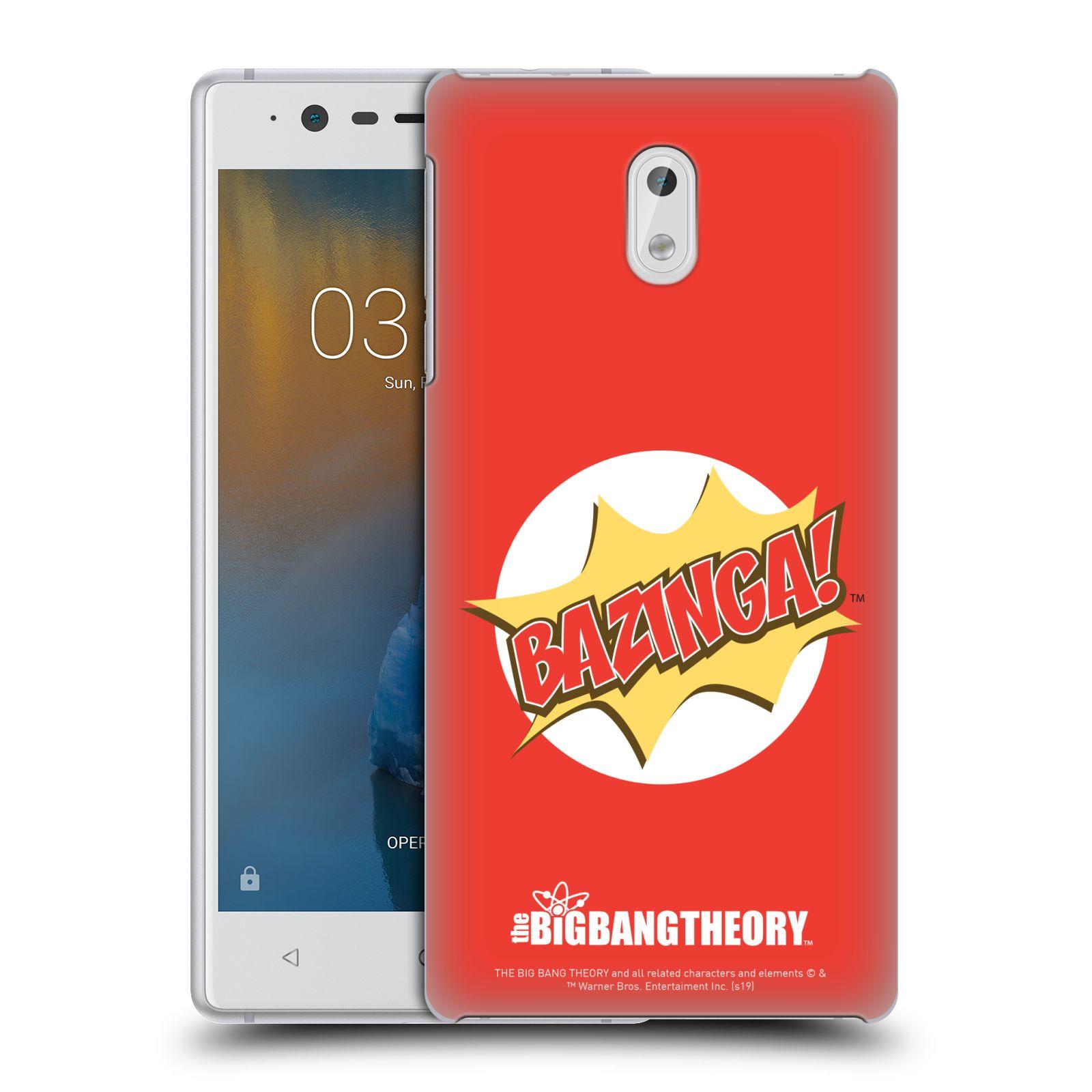 Pouzdro na mobil Nokia 3 - HEAD CASE - Big Bang Theory - Bazinga
