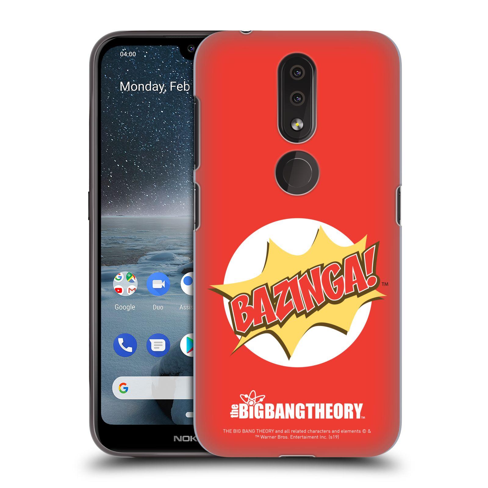 Pouzdro na mobil Nokia 4.2 - HEAD CASE - Big Bang Theory - Bazinga