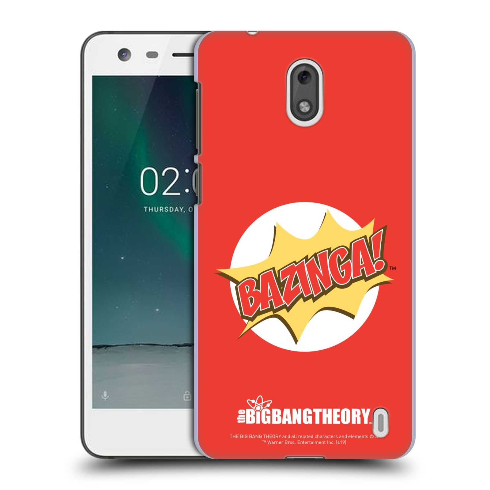 Pouzdro na mobil Nokia 2 - HEAD CASE - Big Bang Theory - Bazinga
