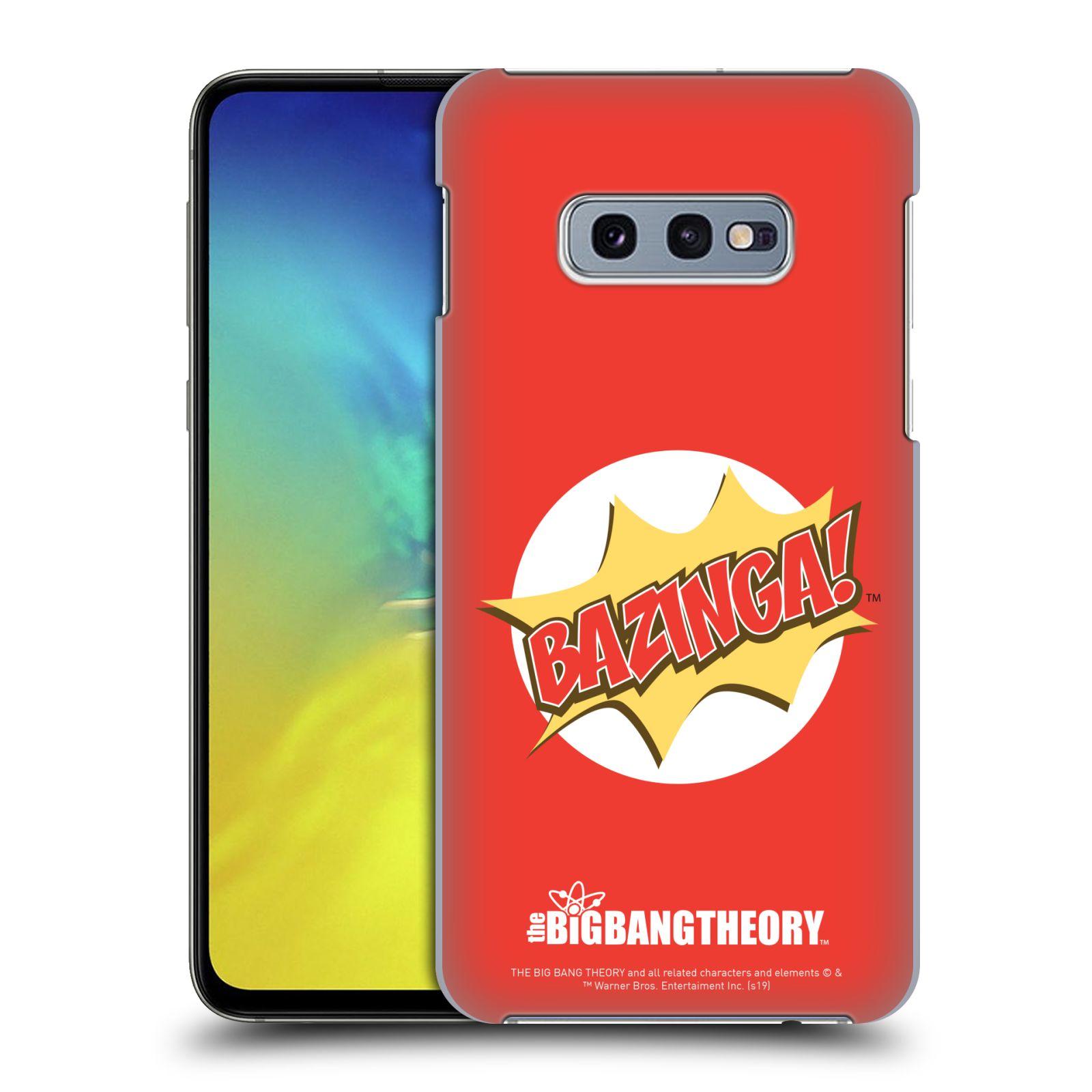 Pouzdro na mobil Samsung Galaxy S10e - HEAD CASE - Big Bang Theory - Bazinga