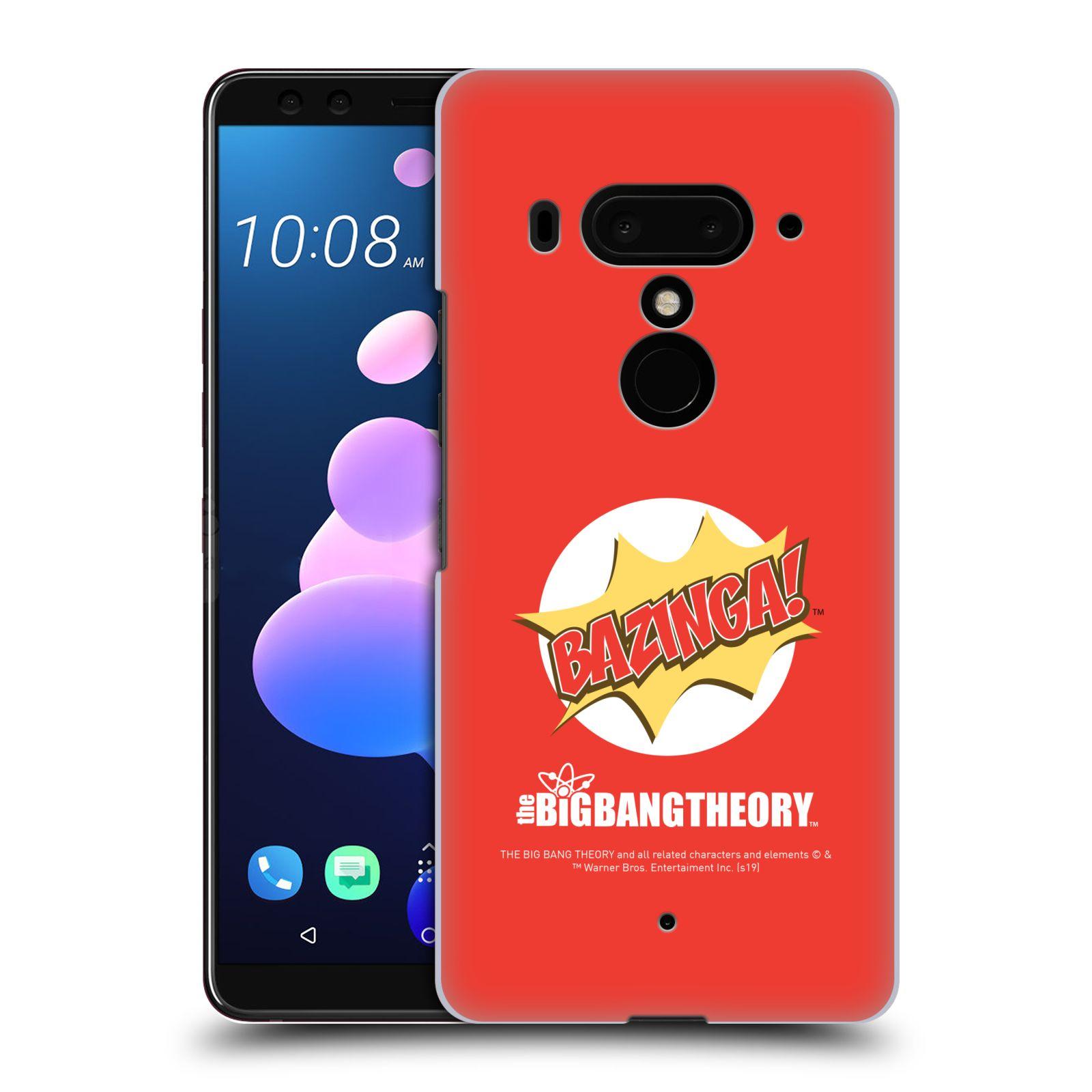 Pouzdro na mobil HTC U 12 PLUS / U 12+ DUAL SIM - HEAD CASE - Big Bang Theory - Bazinga