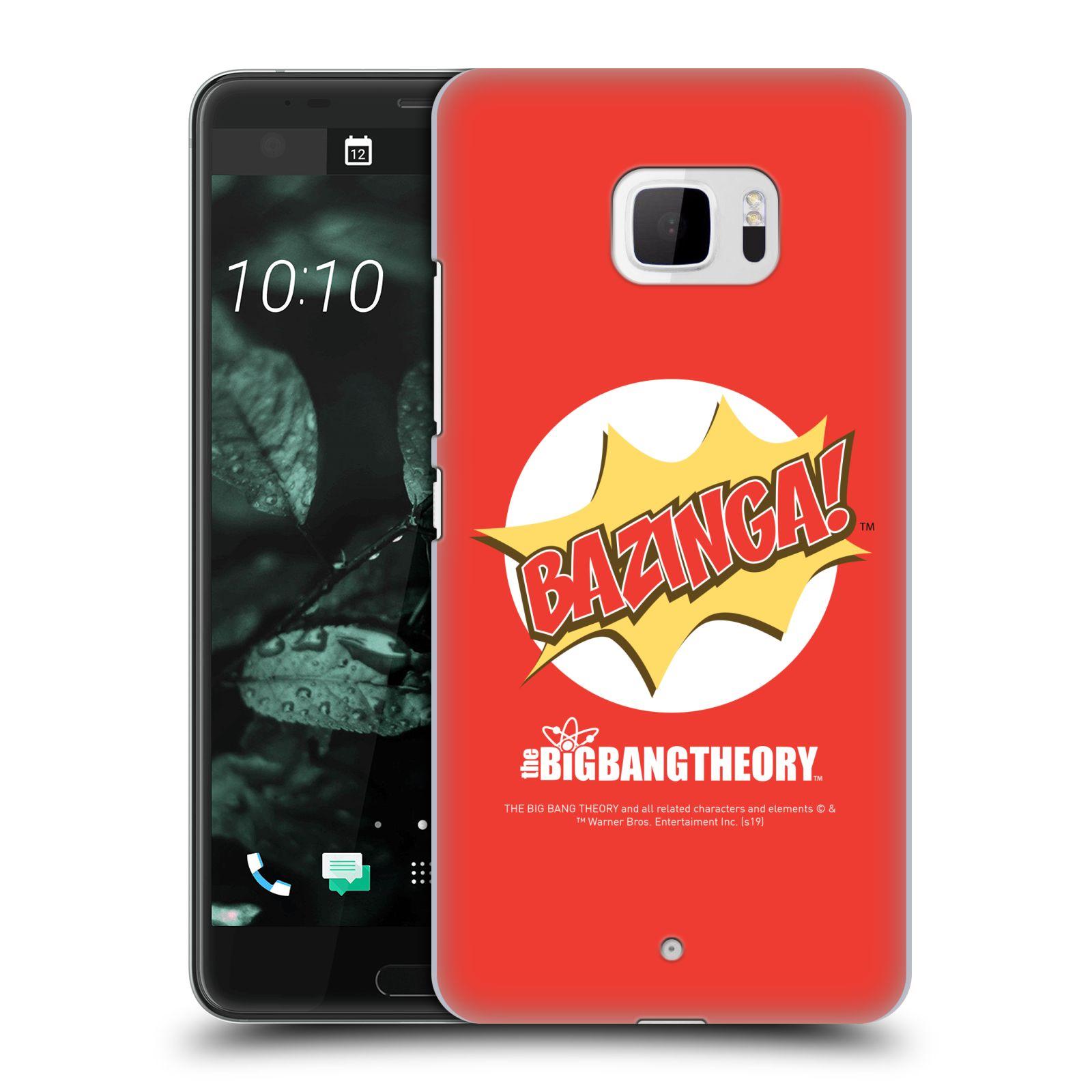 Pouzdro na mobil HTC U Ultra - HEAD CASE - Big Bang Theory - Bazinga