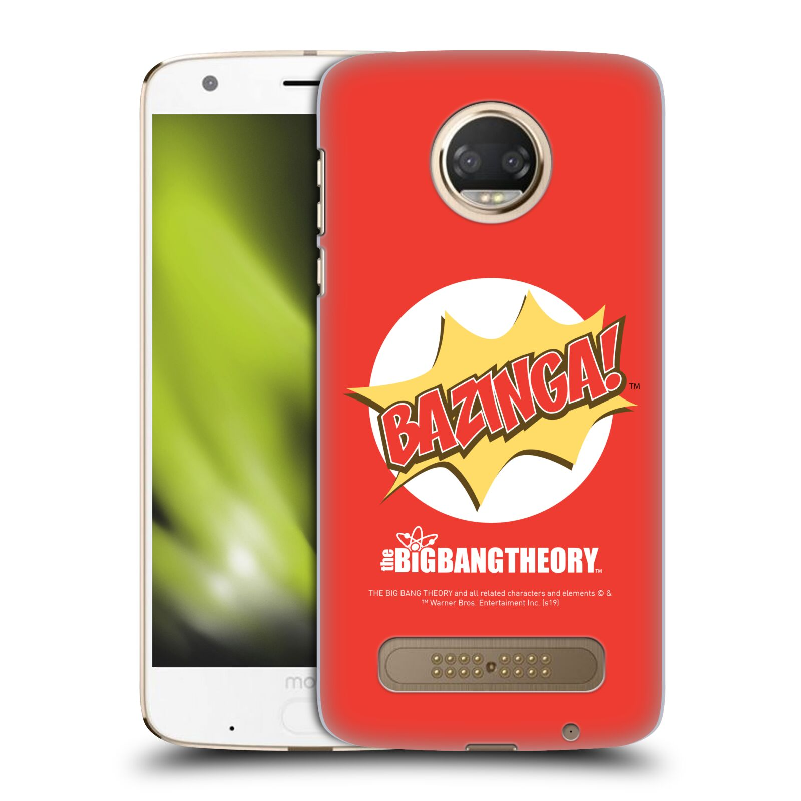 Pouzdro na mobil Motorola Moto Z2 PLAY - HEAD CASE - Big Bang Theory - Bazinga