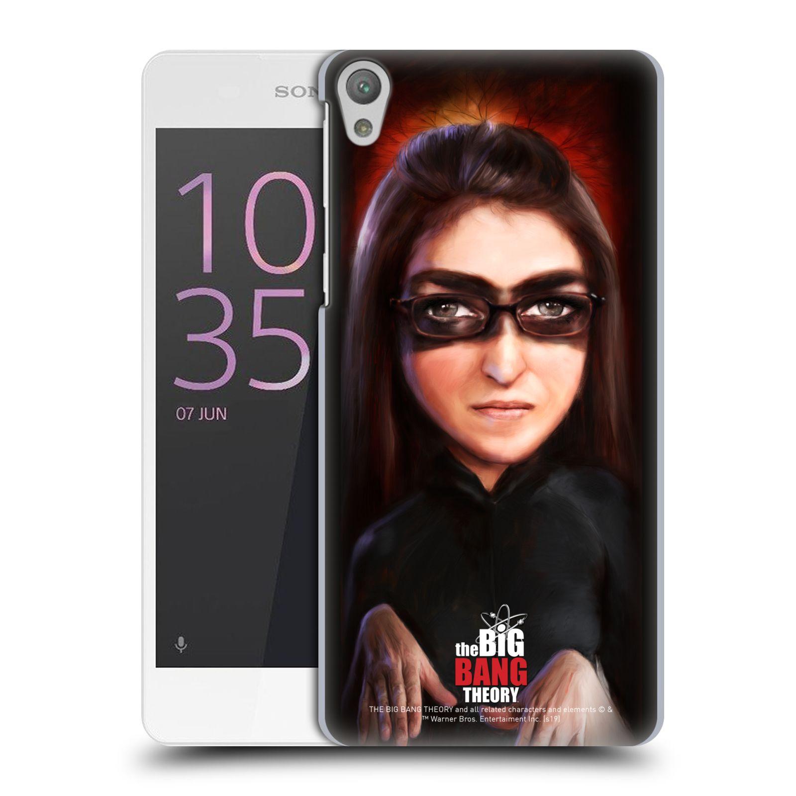 Pouzdro na mobil Sony Xperia E5 - HEAD CASE - Big Bang Theory - Amy Farrah Fowler