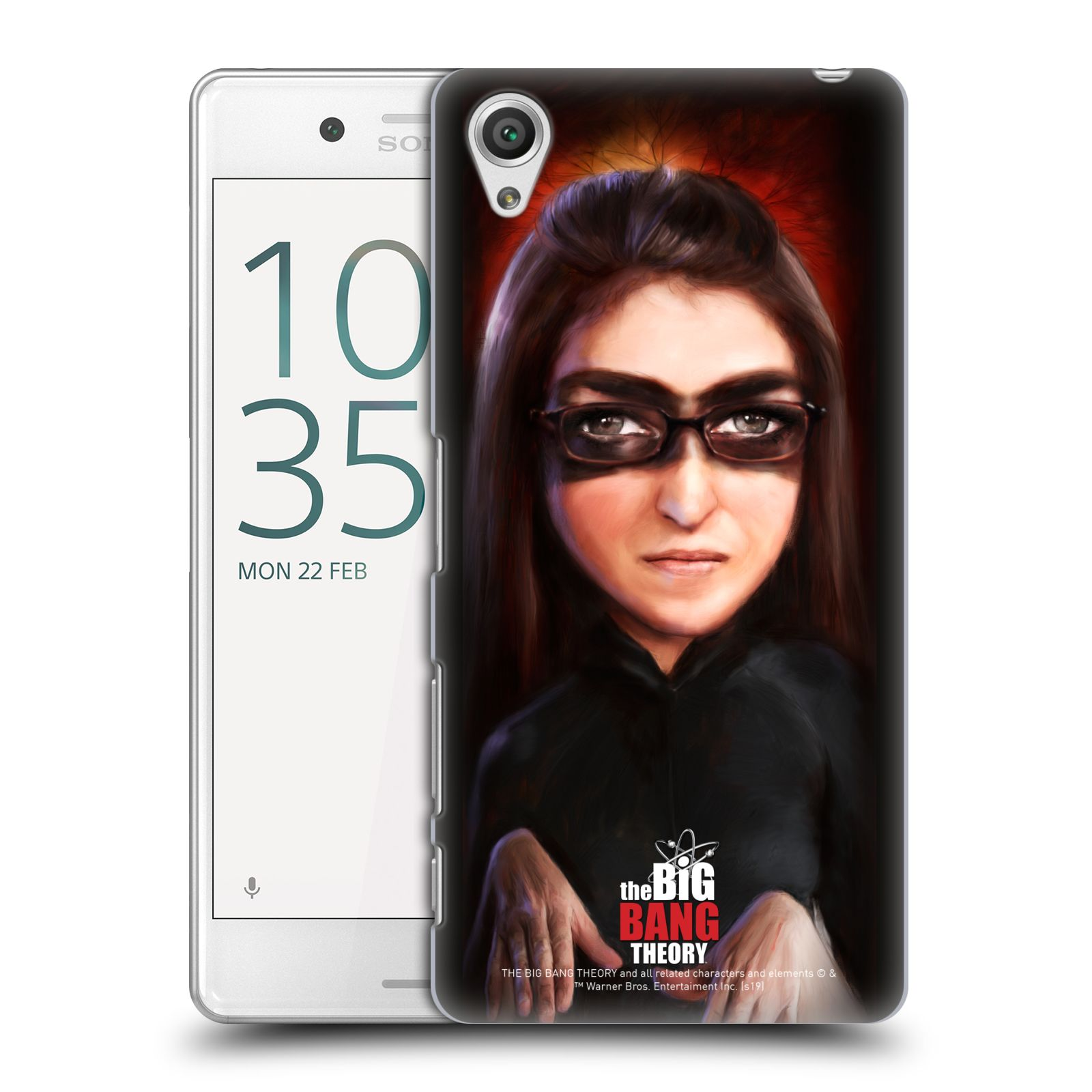 Pouzdro na mobil Sony Xperia X PERFORMANCE - HEAD CASE - Big Bang Theory - Amy Farrah Fowler