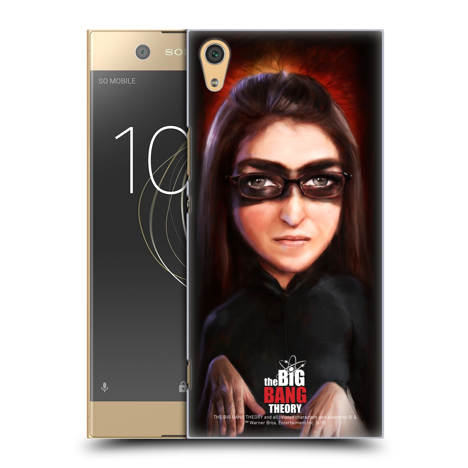 Pouzdro na mobil Sony Xperia XA1 ULTRA - HEAD CASE - Big Bang Theory - Amy Farrah Fowler