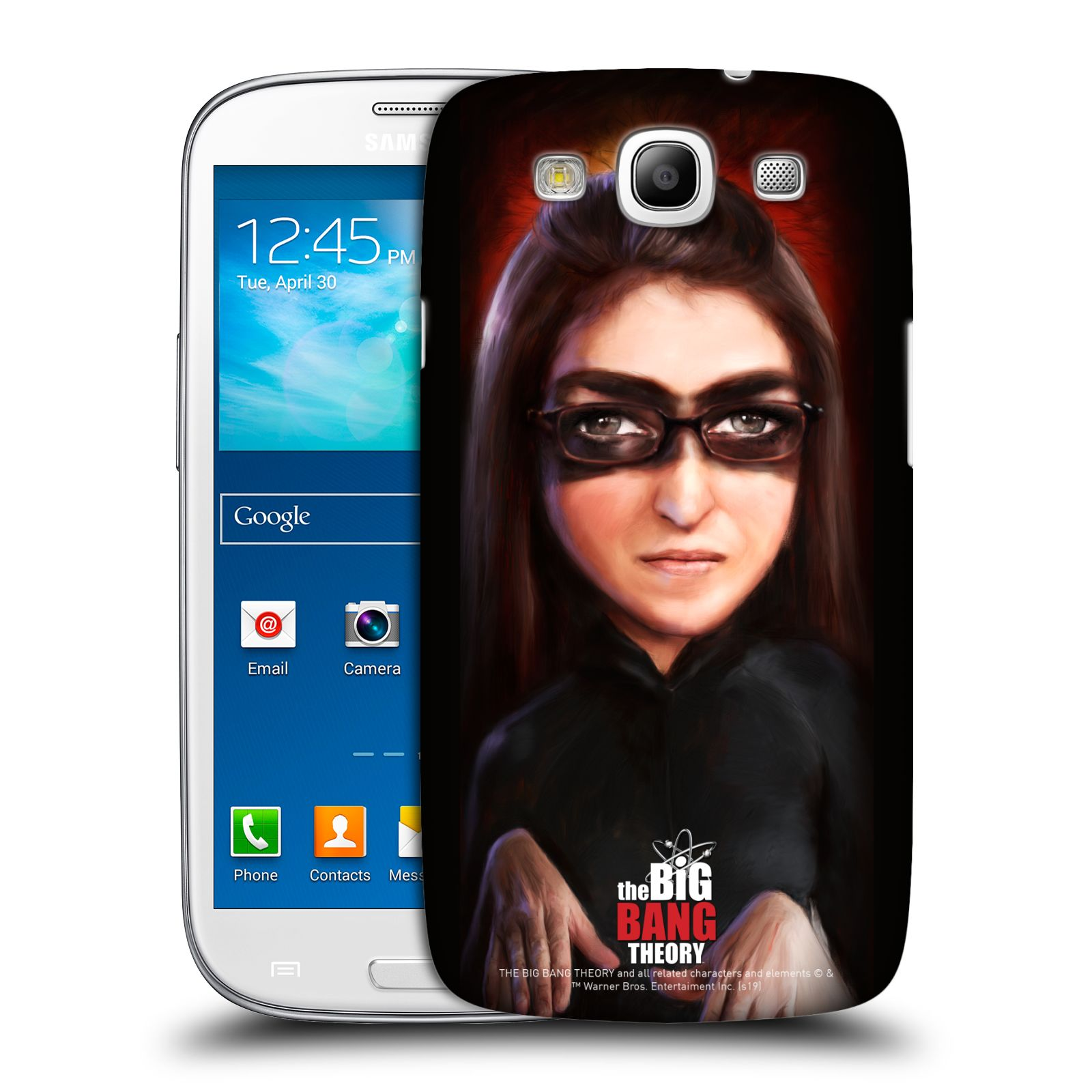 Pouzdro na mobil Samsung Galaxy S3 - HEAD CASE - Big Bang Theory - Amy Farrah Fowler