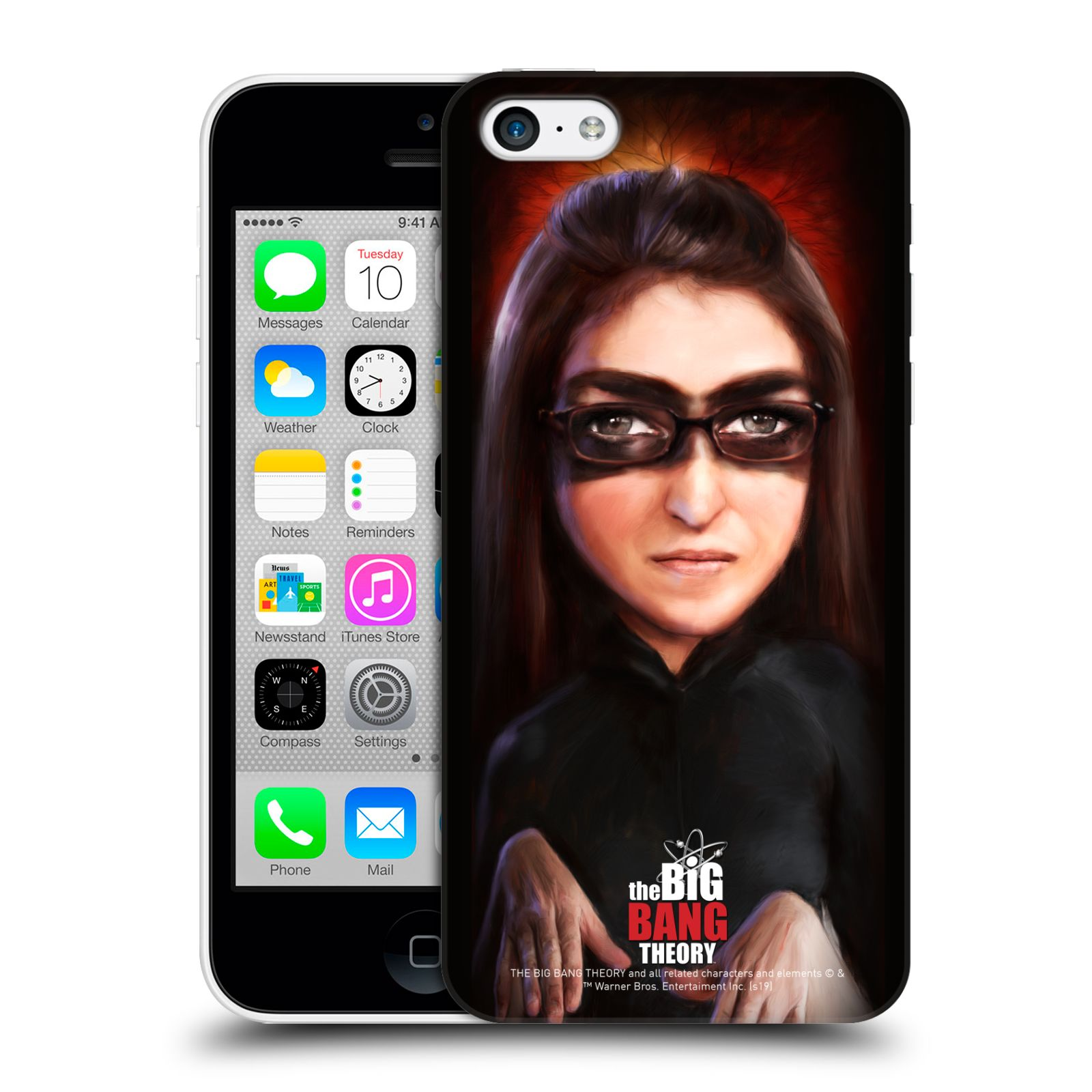 Pouzdro na mobil Apple Iphone 5C - HEAD CASE - Big Bang Theory - Amy Farrah Fowler