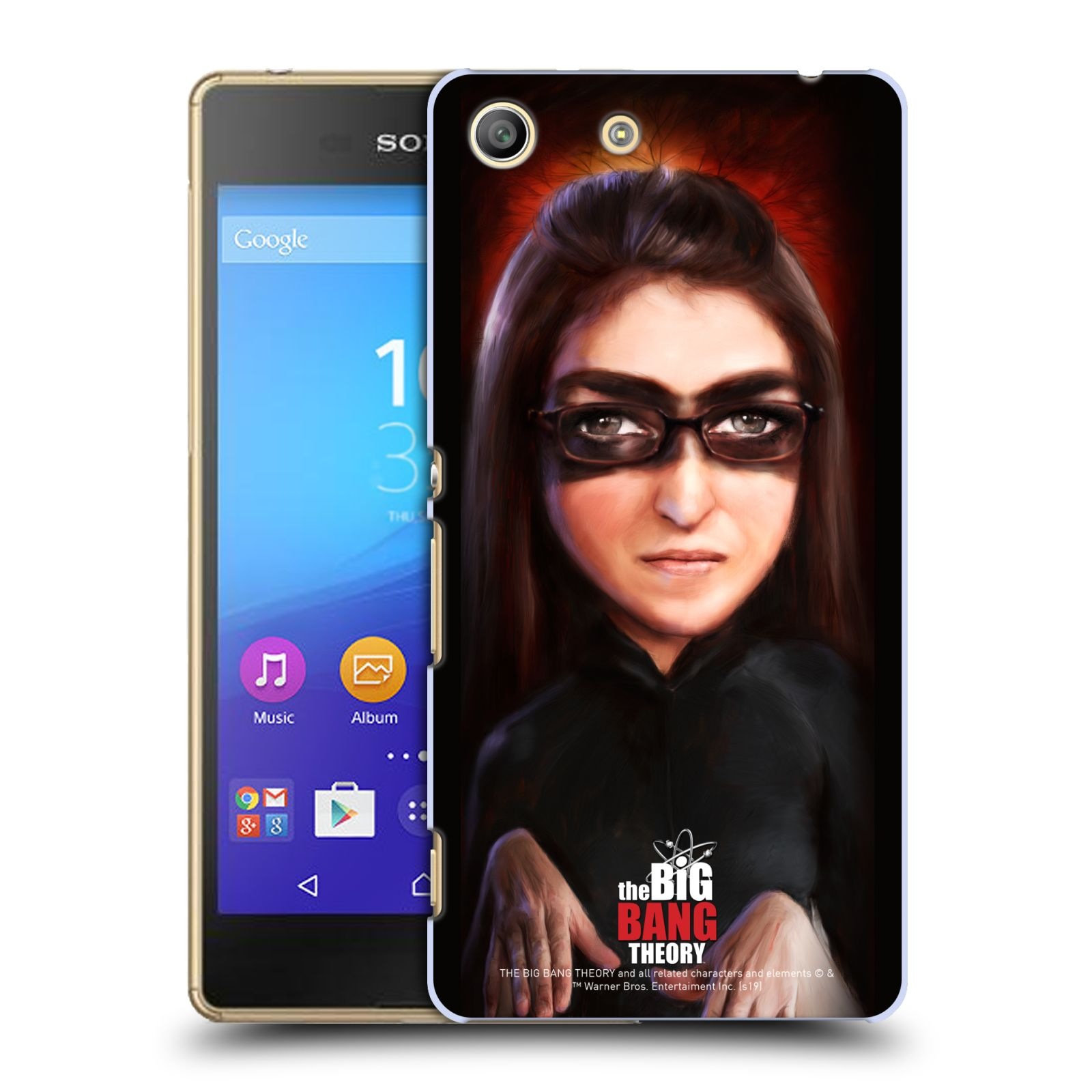 Pouzdro na mobil Sony Xperia M5 - HEAD CASE - Big Bang Theory - Amy Farrah Fowler
