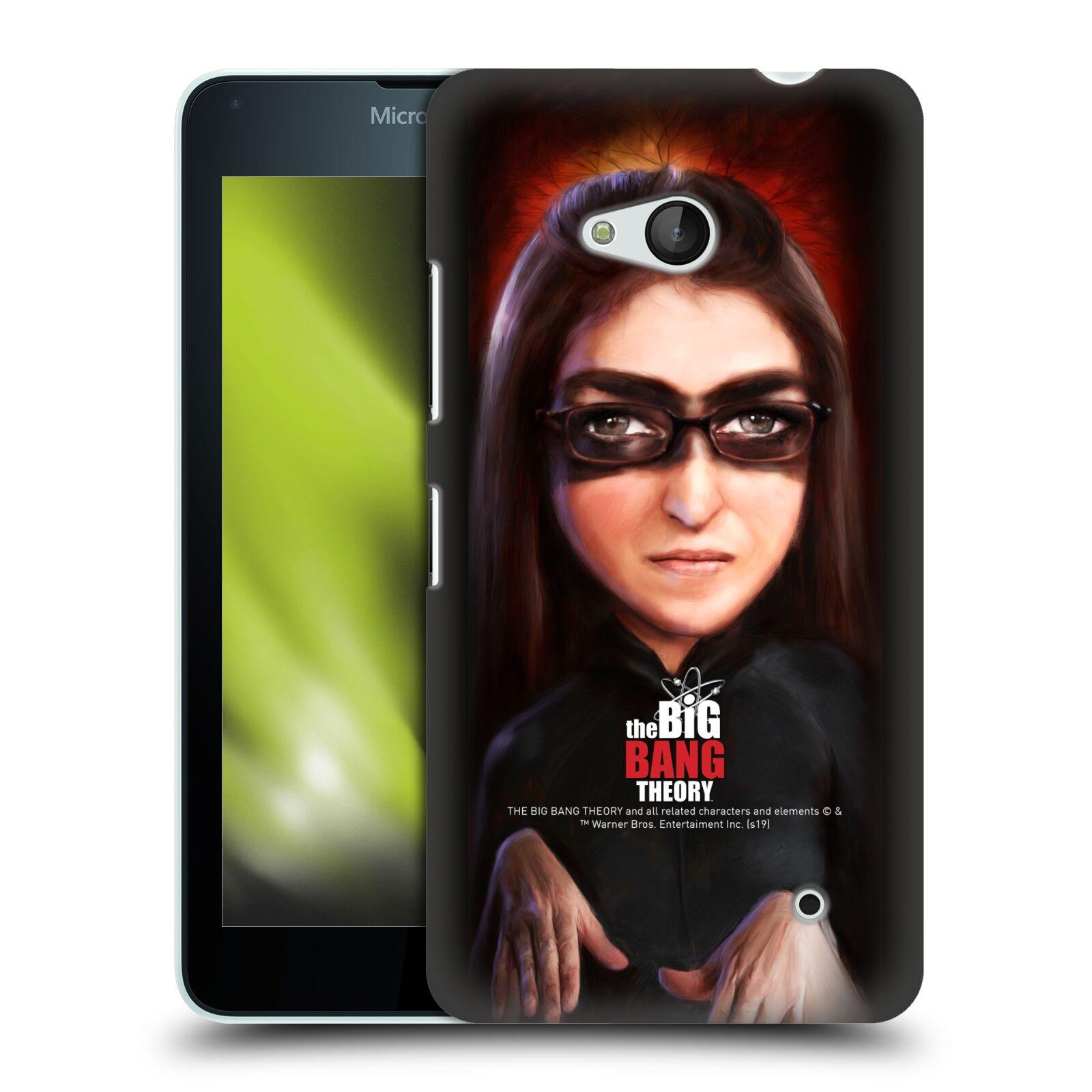 Pouzdro na mobil Microsoft Lumia 640 / 640 DUAL SIM - HEAD CASE - Big Bang Theory - Amy Farrah Fowler