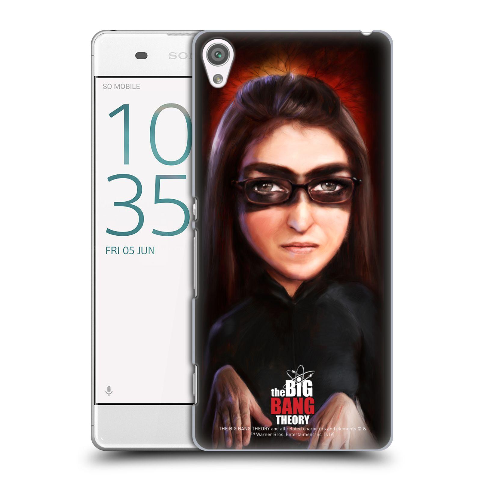 Pouzdro na mobil Sony Xperia XA - HEAD CASE - Big Bang Theory - Amy Farrah Fowler