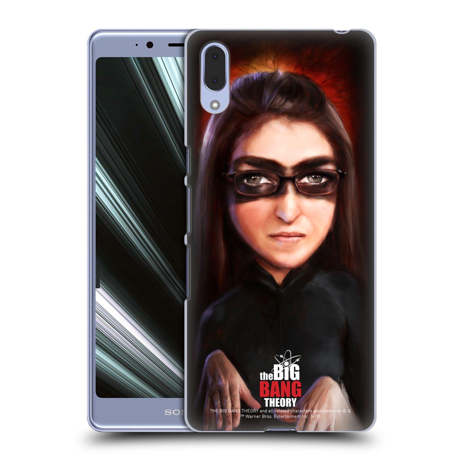 Pouzdro na mobil Sony Xperia L3 - HEAD CASE - Big Bang Theory - Amy Farrah Fowler