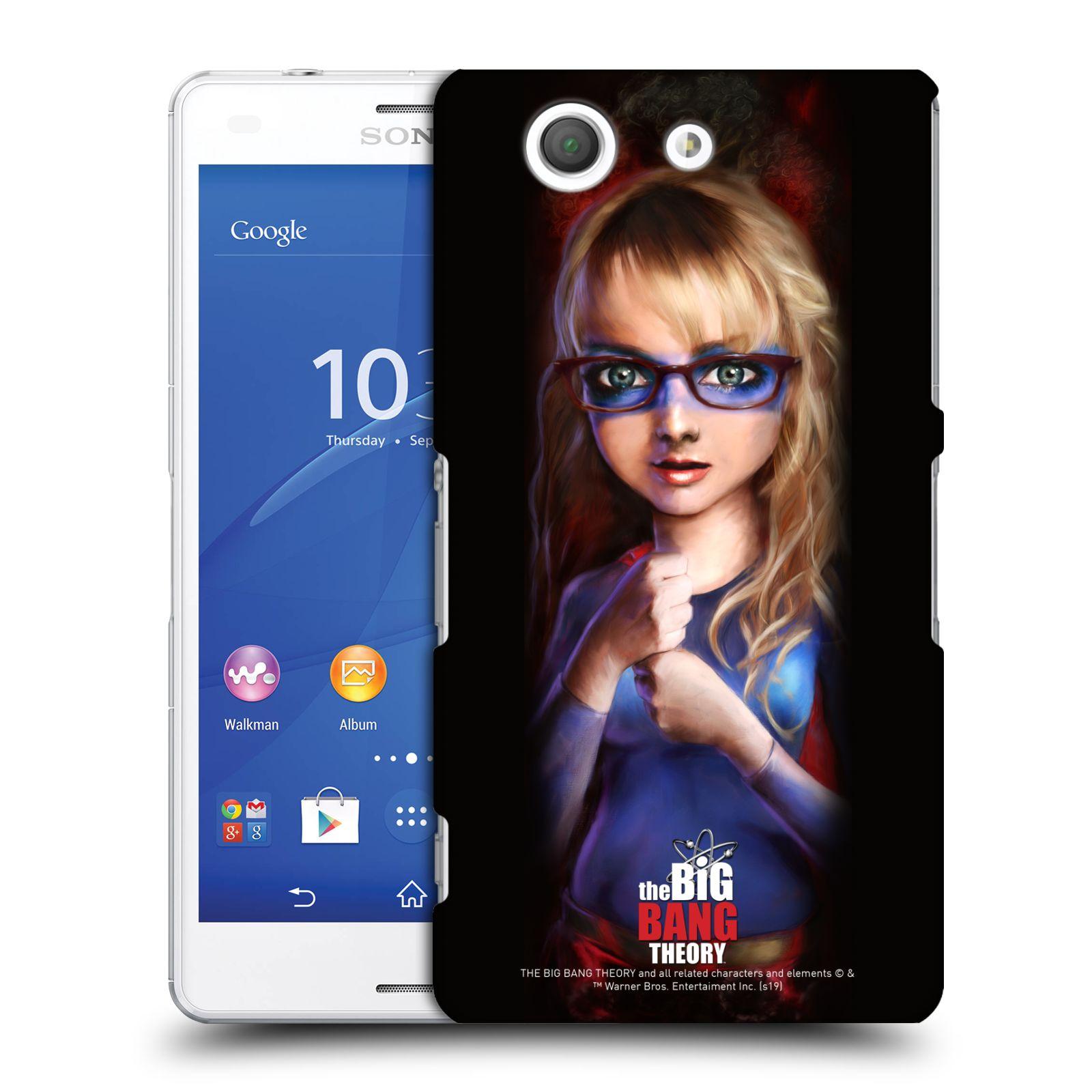 Pouzdro na mobil Sony Xperia Z3 COMPACT - HEAD CASE - Big Bang Theory - Bernadette Rostenkowski