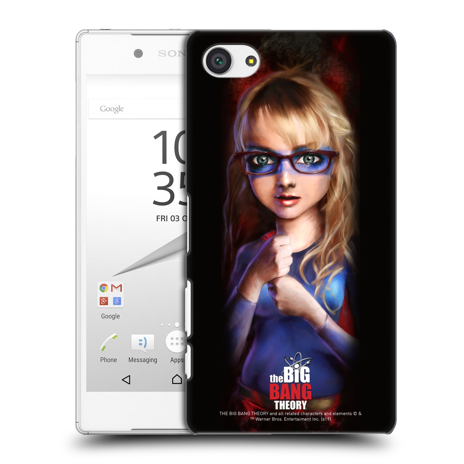 Pouzdro na mobil Sony Xperia Z5 COMPACT - HEAD CASE - Big Bang Theory - Bernadette Rostenkowski
