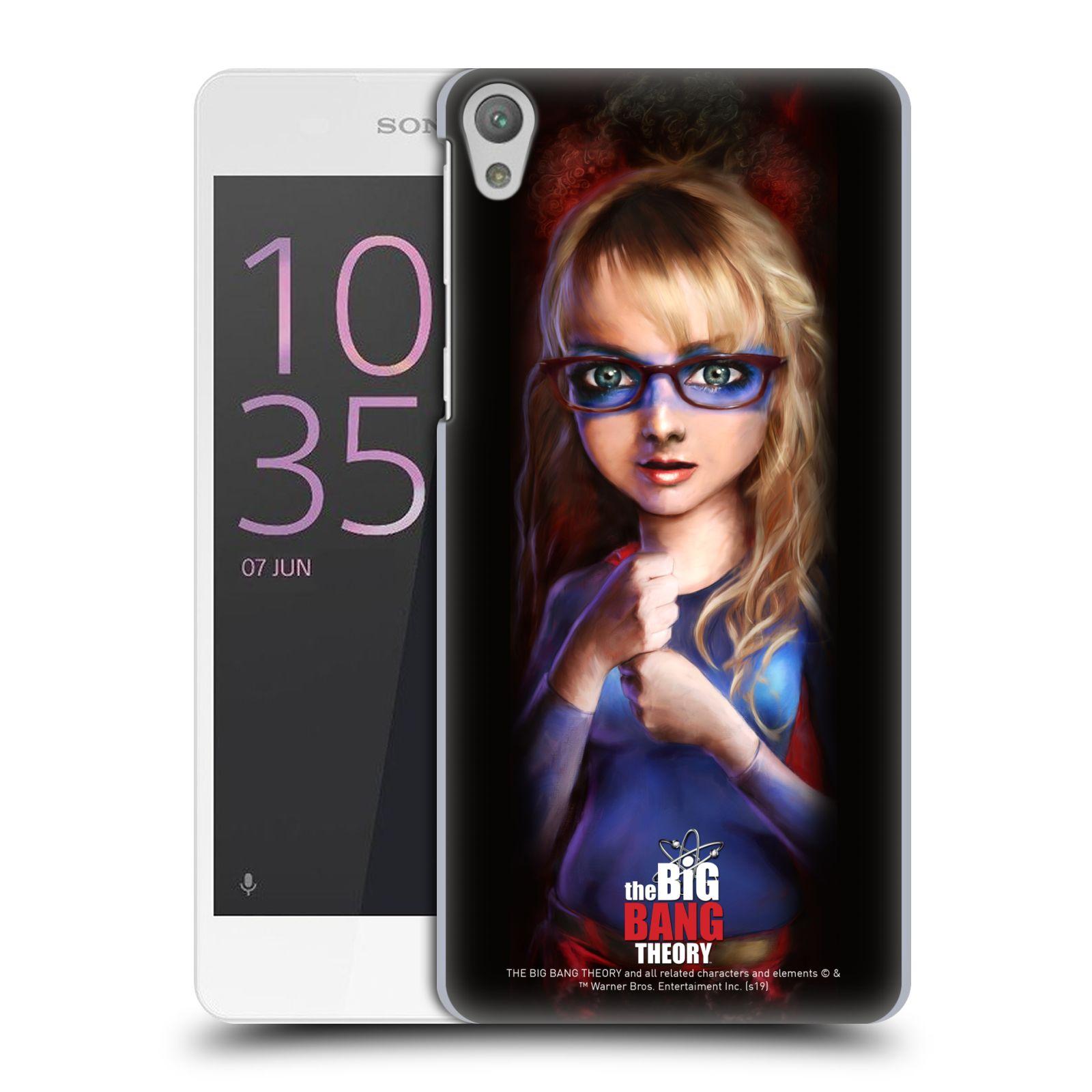 Pouzdro na mobil Sony Xperia E5 - HEAD CASE - Big Bang Theory - Bernadette Rostenkowski
