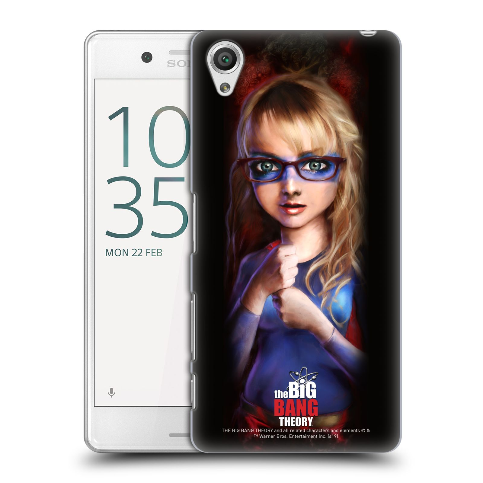 Pouzdro na mobil Sony Xperia X PERFORMANCE - HEAD CASE - Big Bang Theory - Bernadette Rostenkowski