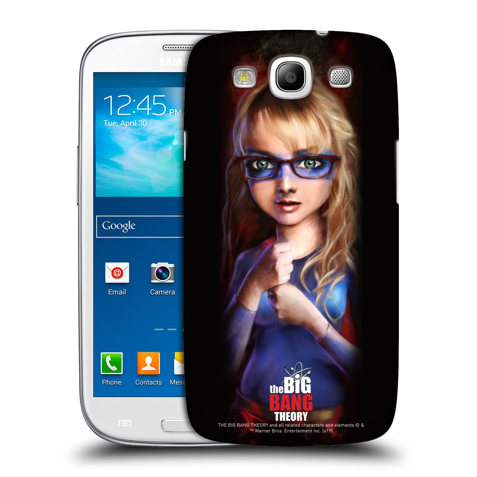 Pouzdro na mobil Samsung Galaxy S3 - HEAD CASE - Big Bang Theory - Bernadette Rostenkowski