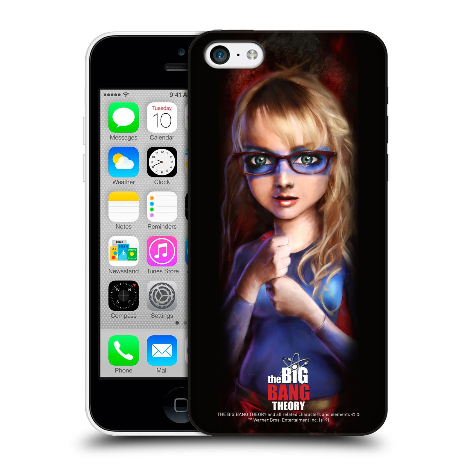 Pouzdro na mobil Apple Iphone 5C - HEAD CASE - Big Bang Theory - Bernadette Rostenkowski