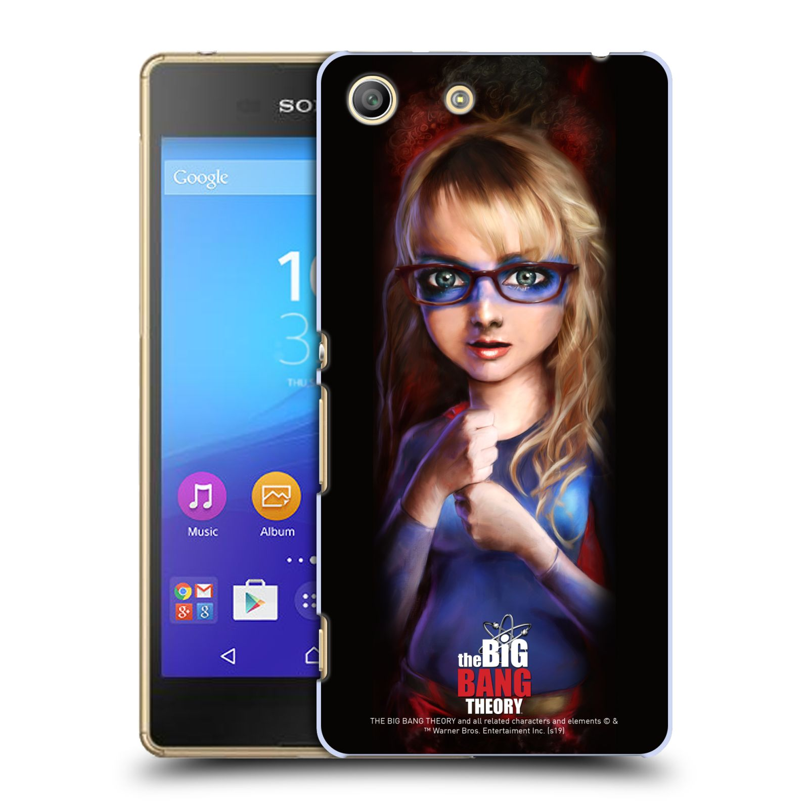 Pouzdro na mobil Sony Xperia M5 - HEAD CASE - Big Bang Theory - Bernadette Rostenkowski