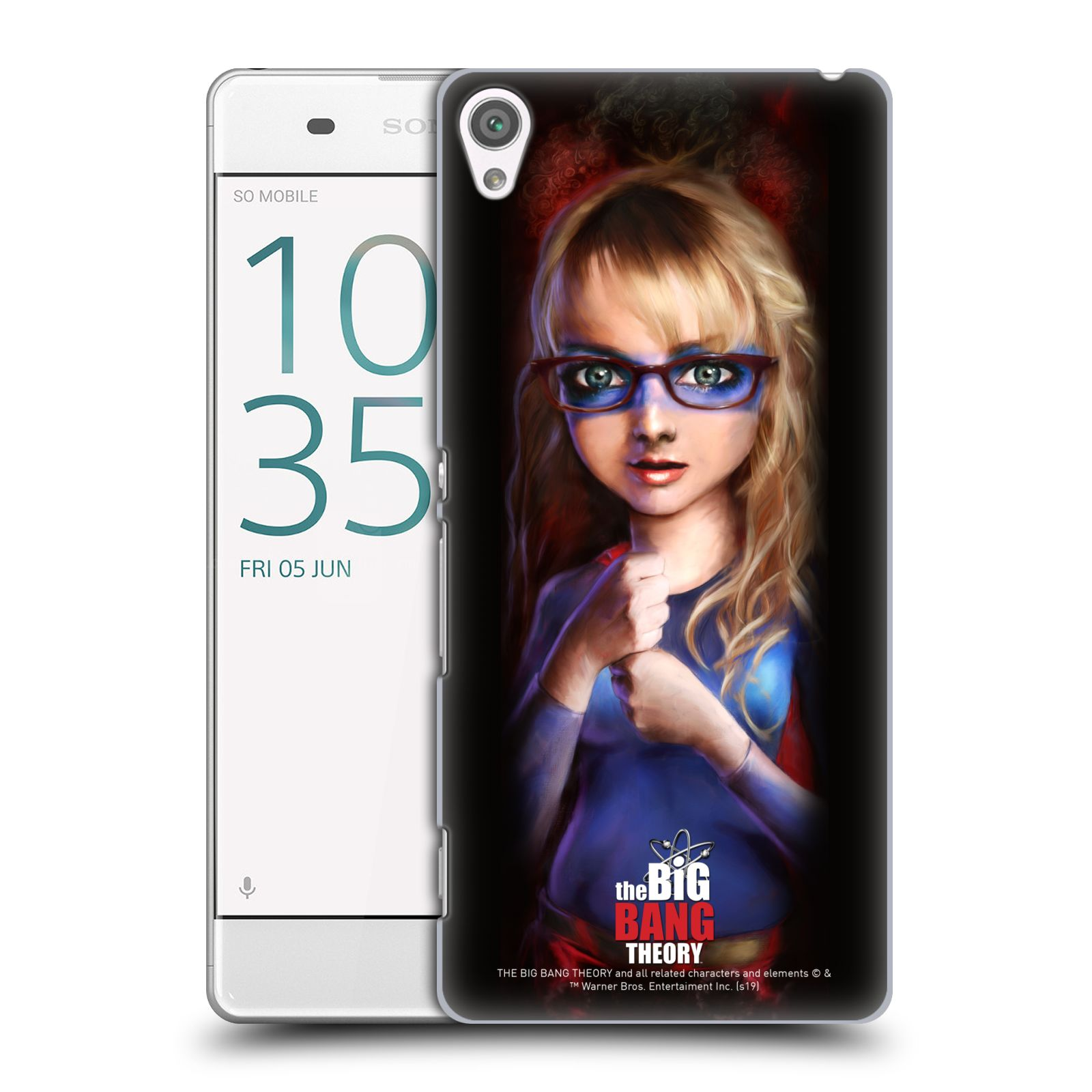 Pouzdro na mobil Sony Xperia XA - HEAD CASE - Big Bang Theory - Bernadette Rostenkowski