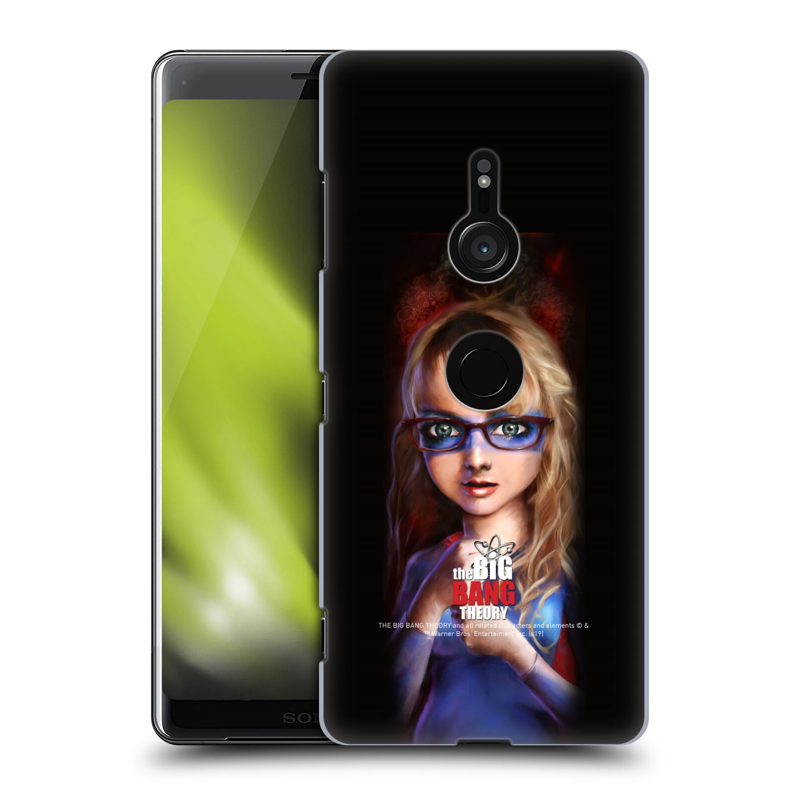 Pouzdro na mobil Sony Xperia XZ3 - HEAD CASE - Big Bang Theory - Bernadette Rostenkowski