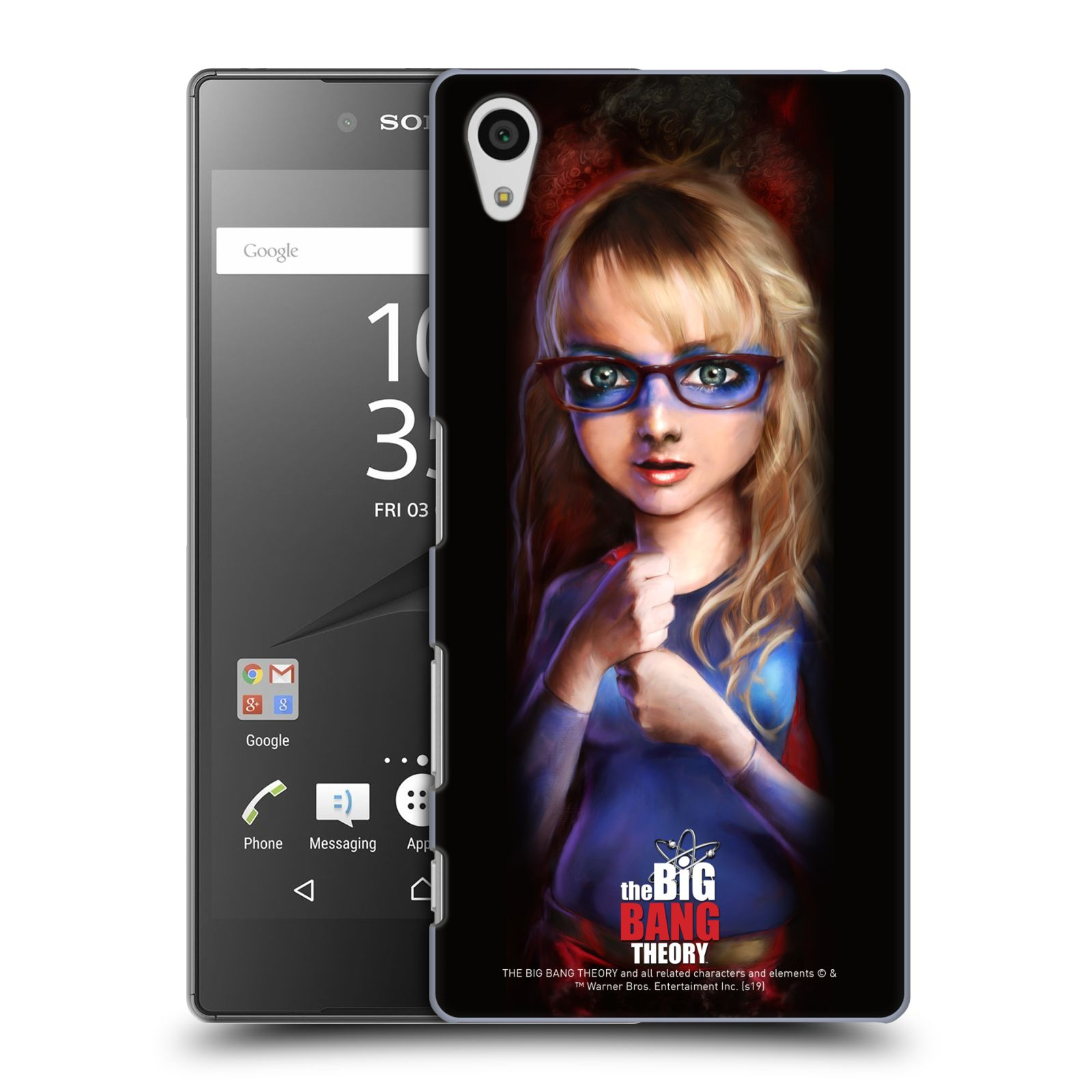 Pouzdro na mobil Sony Xperia Z5 - HEAD CASE - Big Bang Theory - Bernadette Rostenkowski