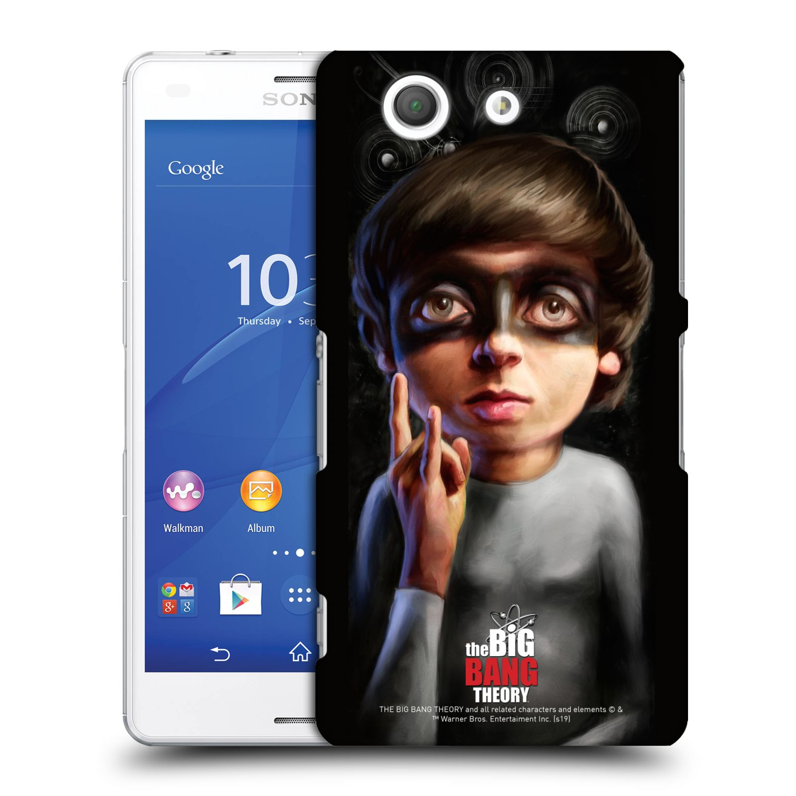 Pouzdro na mobil Sony Xperia Z3 COMPACT - HEAD CASE - Big Bang Theory - Howard Wolowitz