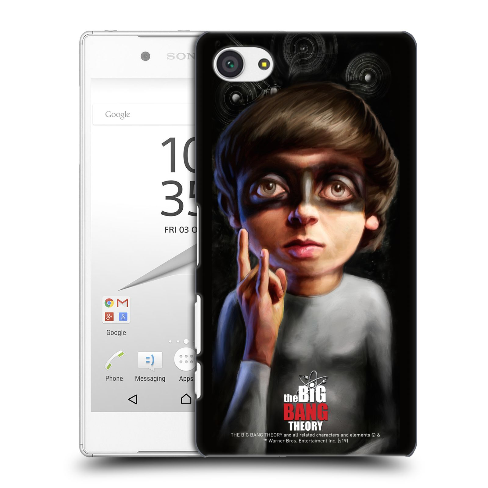 Pouzdro na mobil Sony Xperia Z5 COMPACT - HEAD CASE - Big Bang Theory - Howard Wolowitz