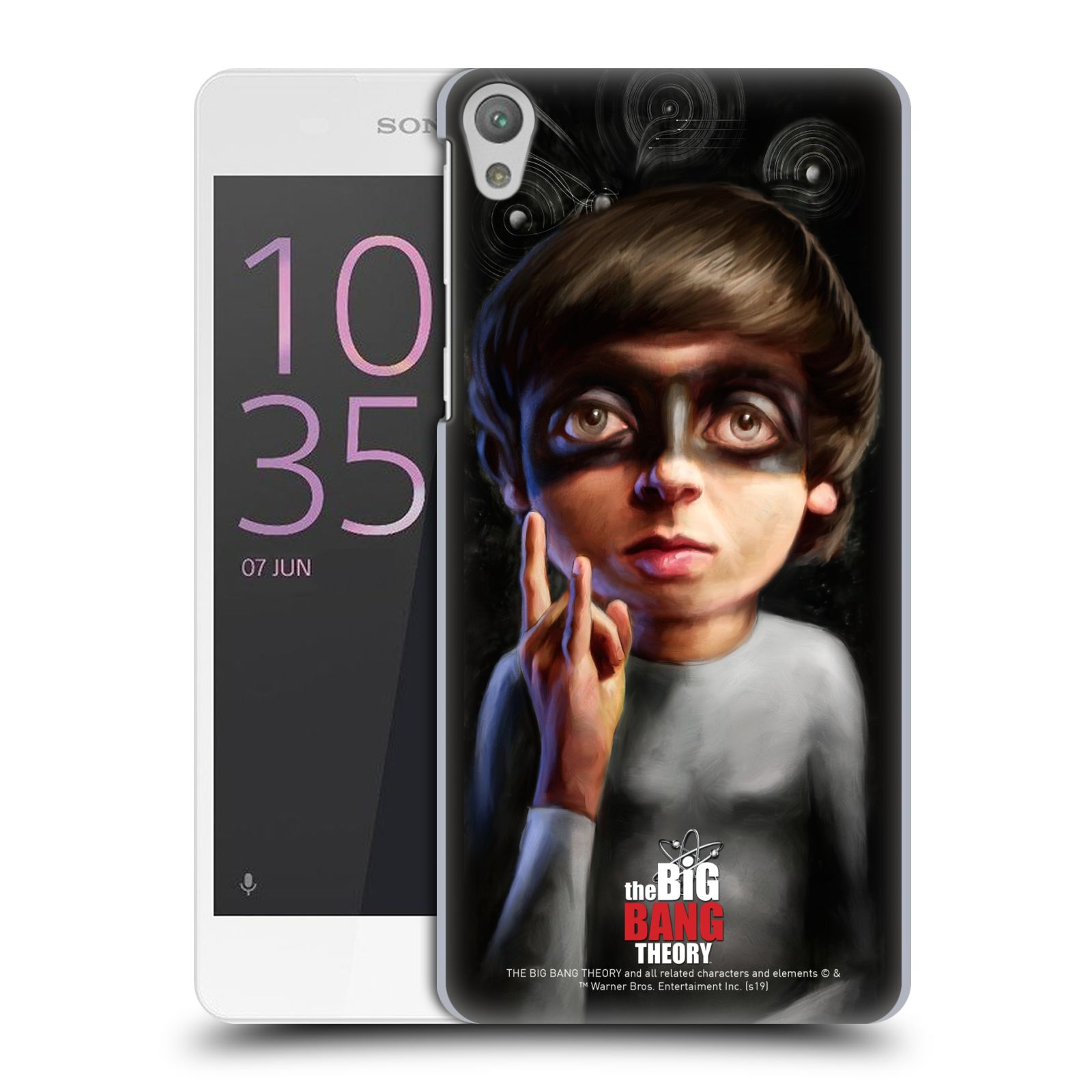 Pouzdro na mobil Sony Xperia E5 - HEAD CASE - Big Bang Theory - Howard Wolowitz