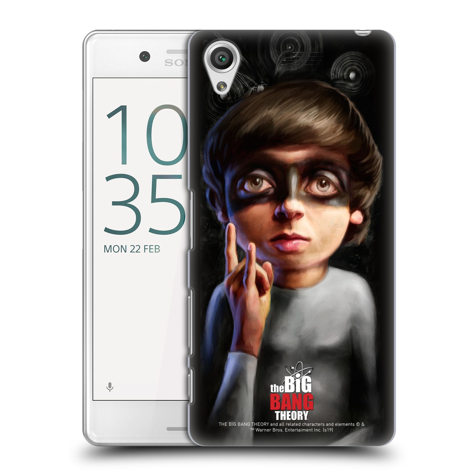 Pouzdro na mobil Sony Xperia X PERFORMANCE - HEAD CASE - Big Bang Theory - Howard Wolowitz