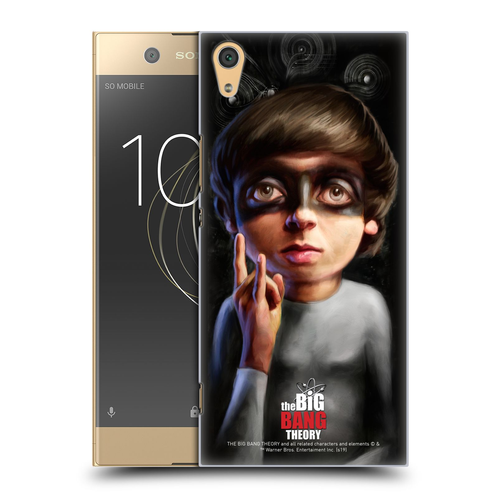 Pouzdro na mobil Sony Xperia XA1 ULTRA - HEAD CASE - Big Bang Theory - Howard Wolowitz