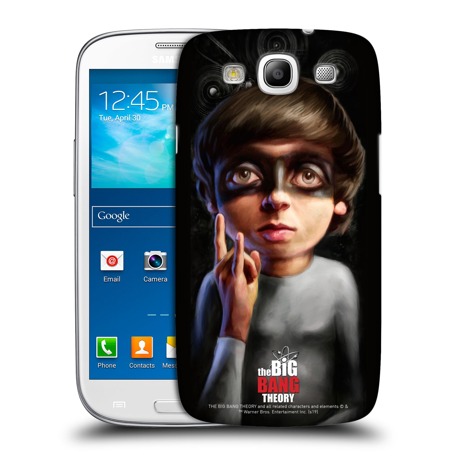 Pouzdro na mobil Samsung Galaxy S3 - HEAD CASE - Big Bang Theory - Howard Wolowitz