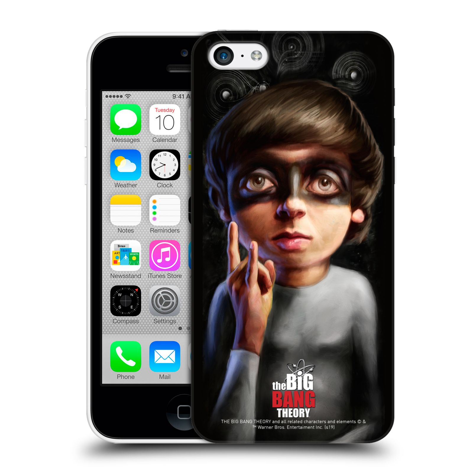 Pouzdro na mobil Apple Iphone 5C - HEAD CASE - Big Bang Theory - Howard Wolowitz