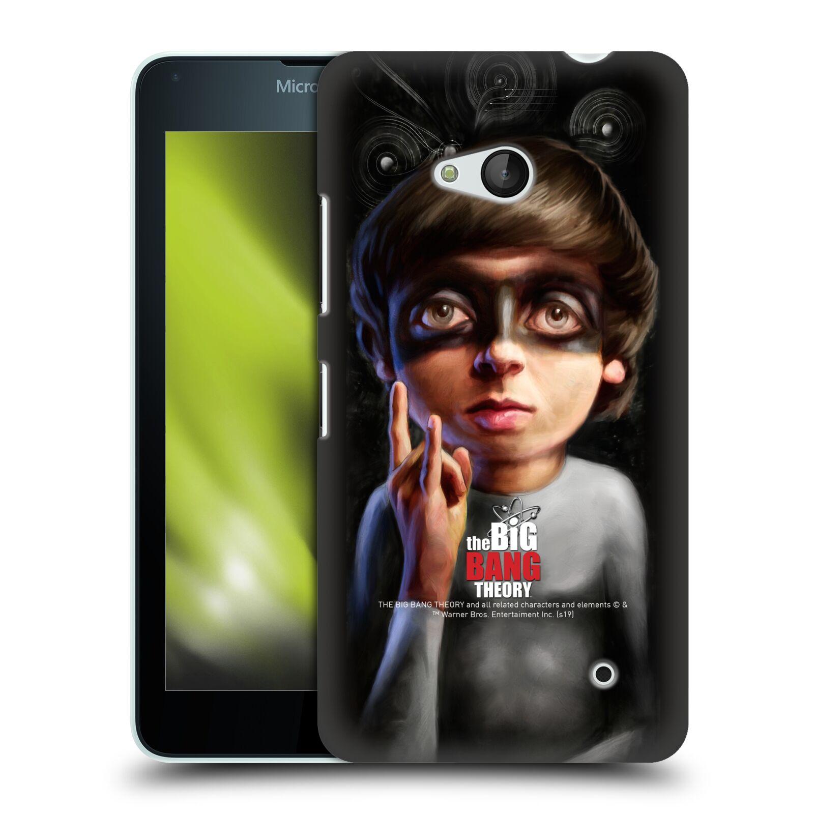 Pouzdro na mobil Microsoft Lumia 640 / 640 DUAL SIM - HEAD CASE - Big Bang Theory - Howard Wolowitz