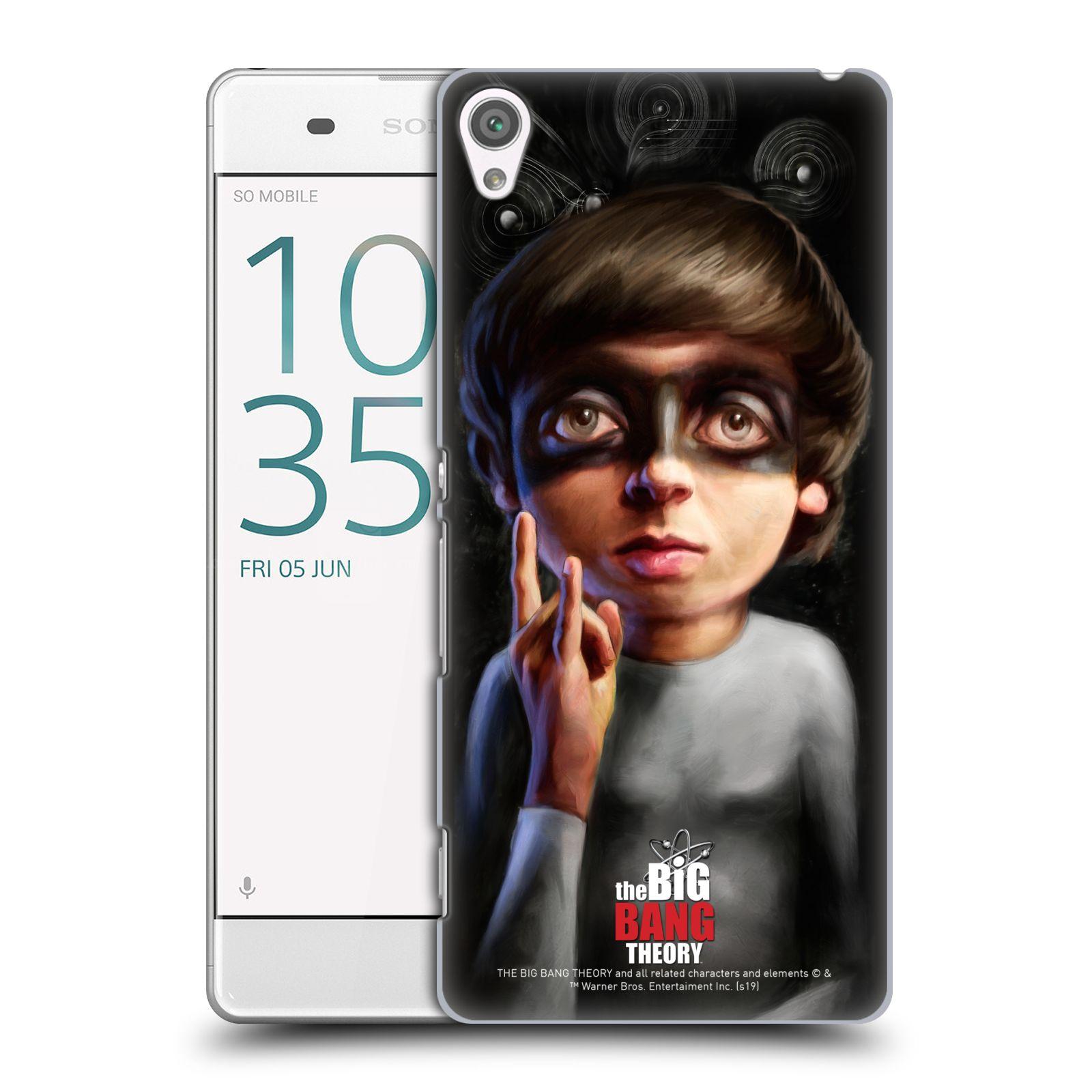 Pouzdro na mobil Sony Xperia XA - HEAD CASE - Big Bang Theory - Howard Wolowitz