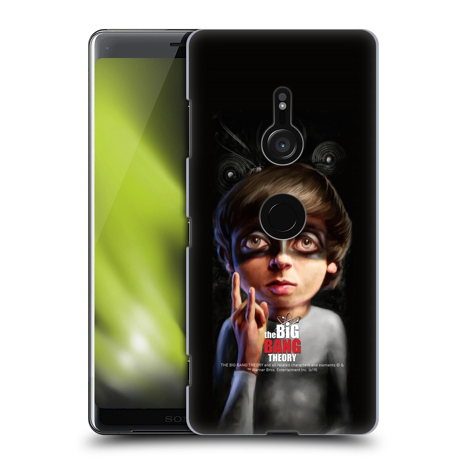 Pouzdro na mobil Sony Xperia XZ3 - HEAD CASE - Big Bang Theory - Howard Wolowitz