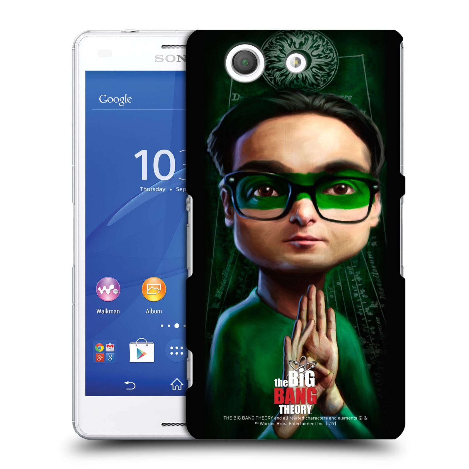 Pouzdro na mobil Sony Xperia Z3 COMPACT - HEAD CASE - Big Bang Theory - Leonard Hofstadter
