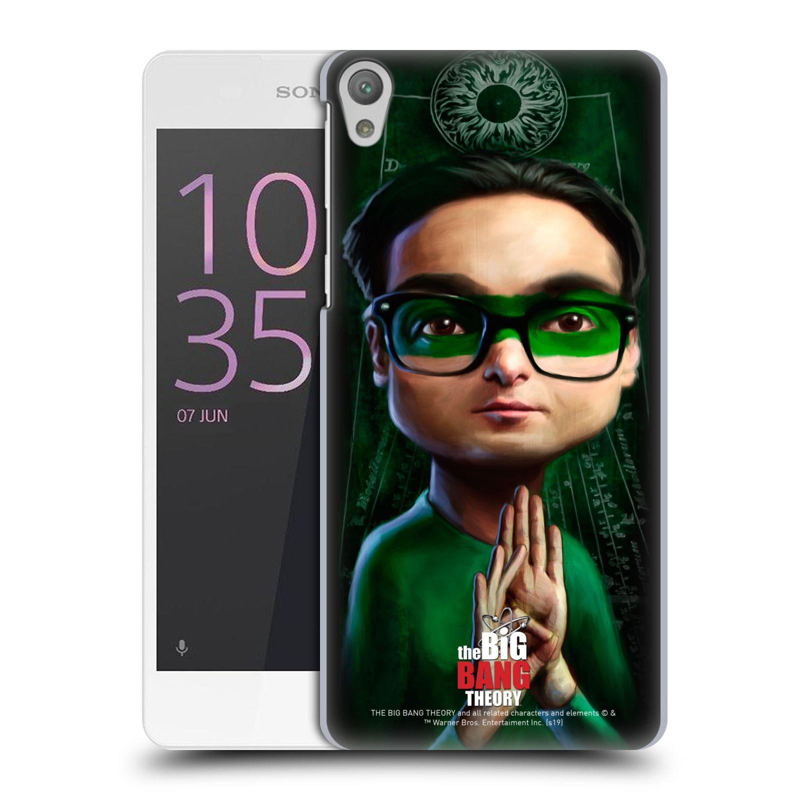 Pouzdro na mobil Sony Xperia E5 - HEAD CASE - Big Bang Theory - Leonard Hofstadter